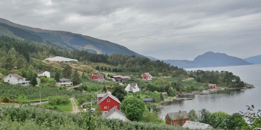 Looking north up Sørfjorden