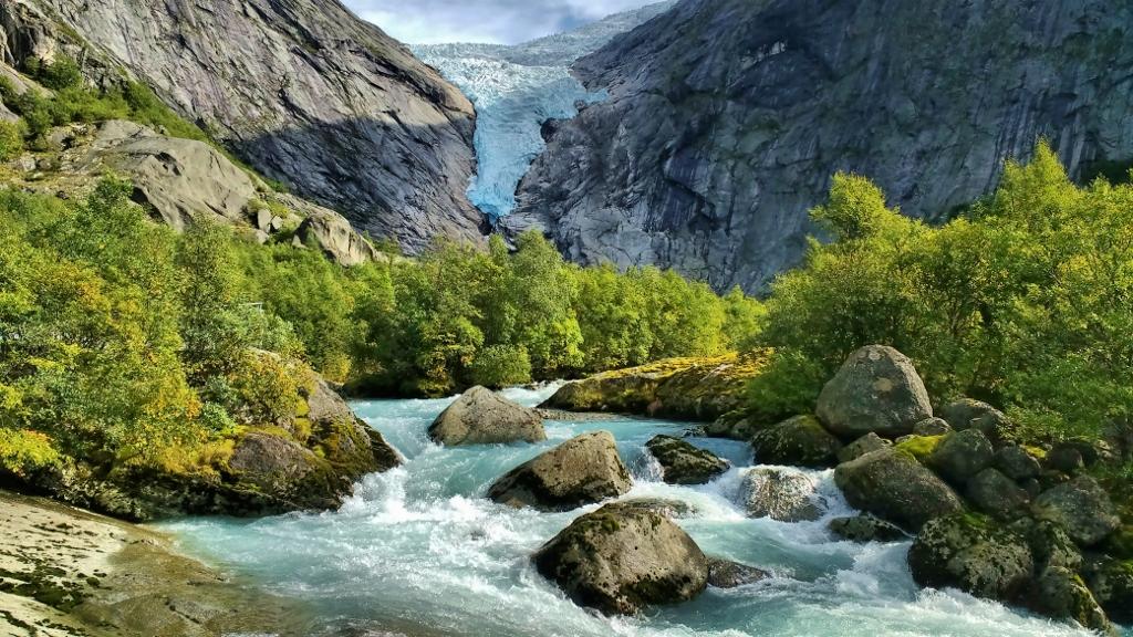 Briksdal Glacier Norway