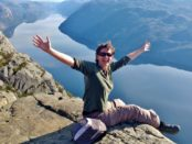 Pulpit Rock, Preikestolen, Norway
