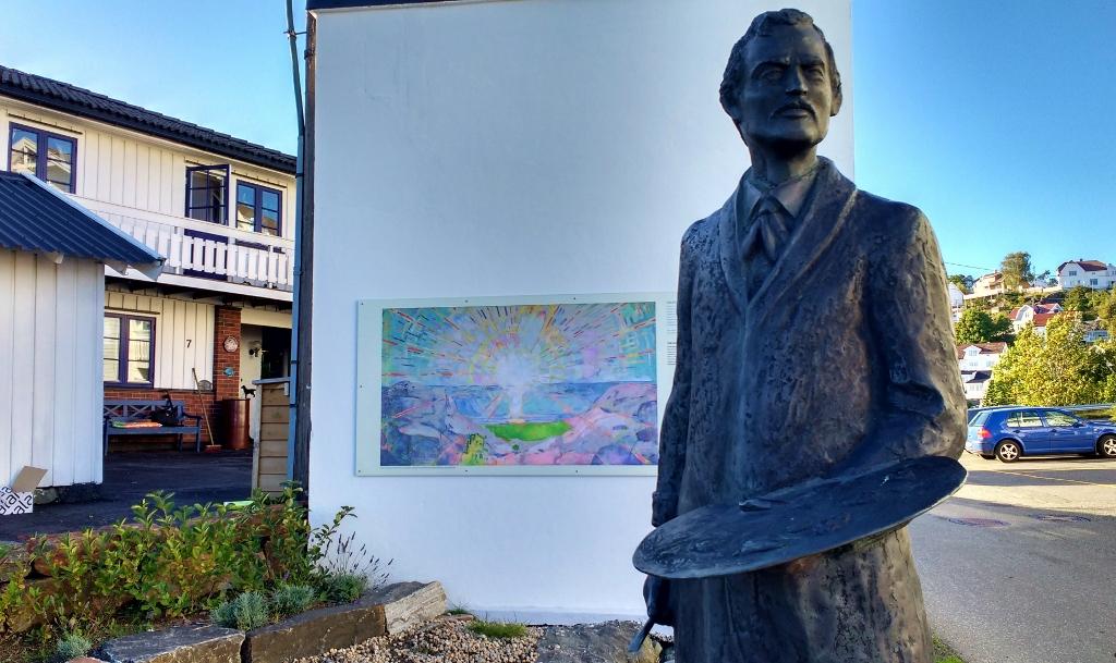 Edvard Munch, Kragerø