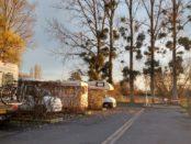 Motorhome Parking near Chalais on D347 France