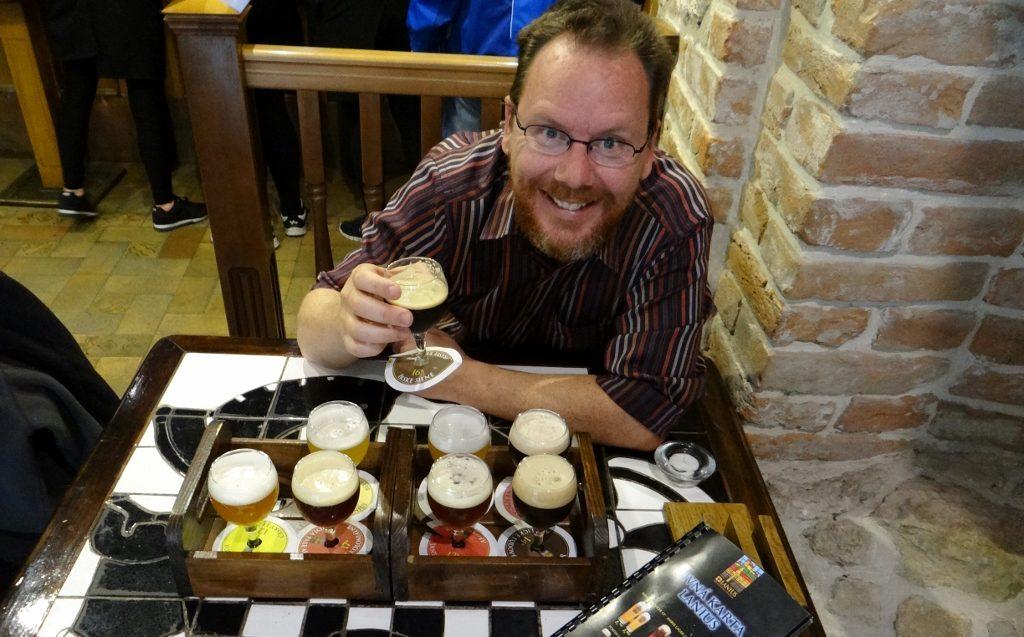 Beer Tasting in Slovakia