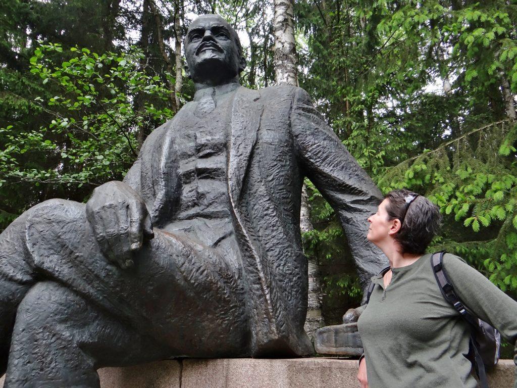 Lenin Statue Grutas Park