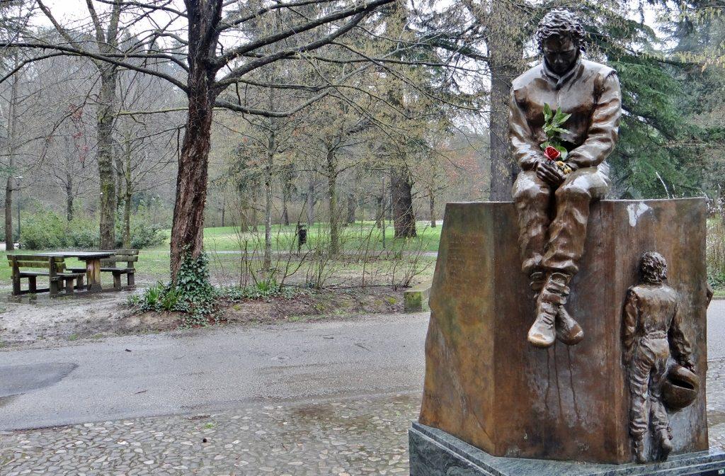 Senna Memorial Imola Italy