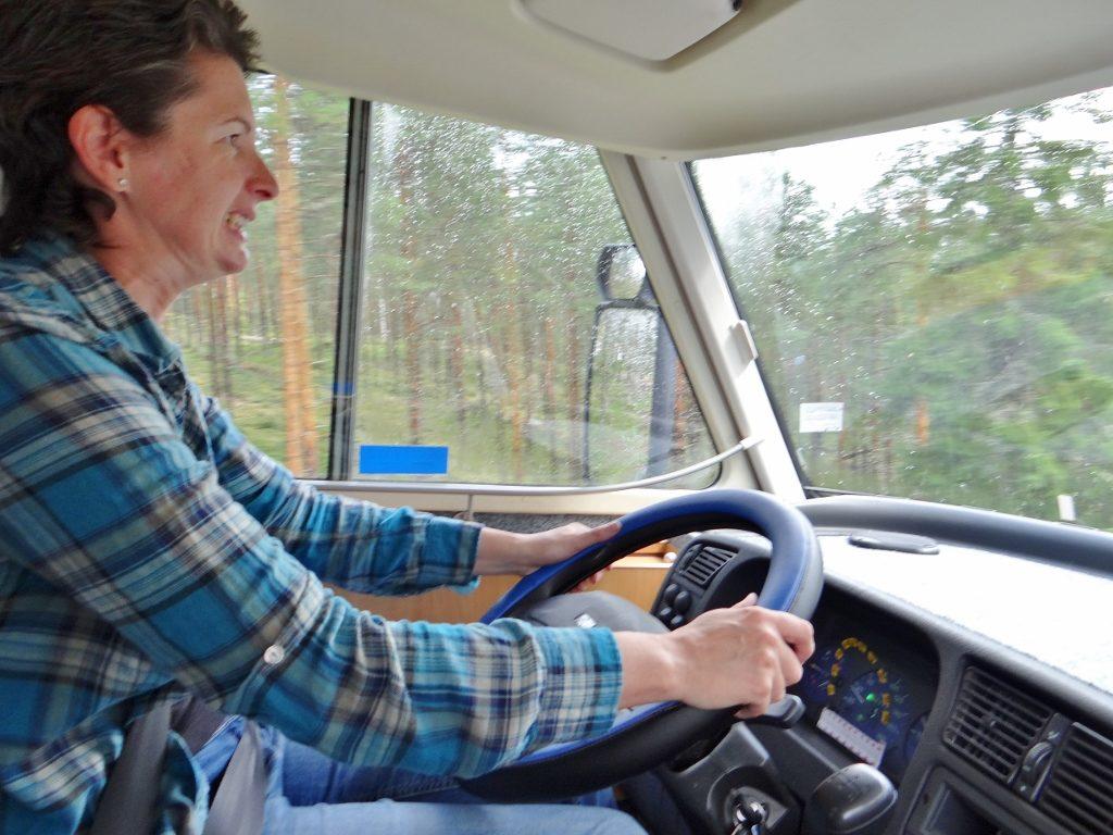 Driving Motorhome Finland
