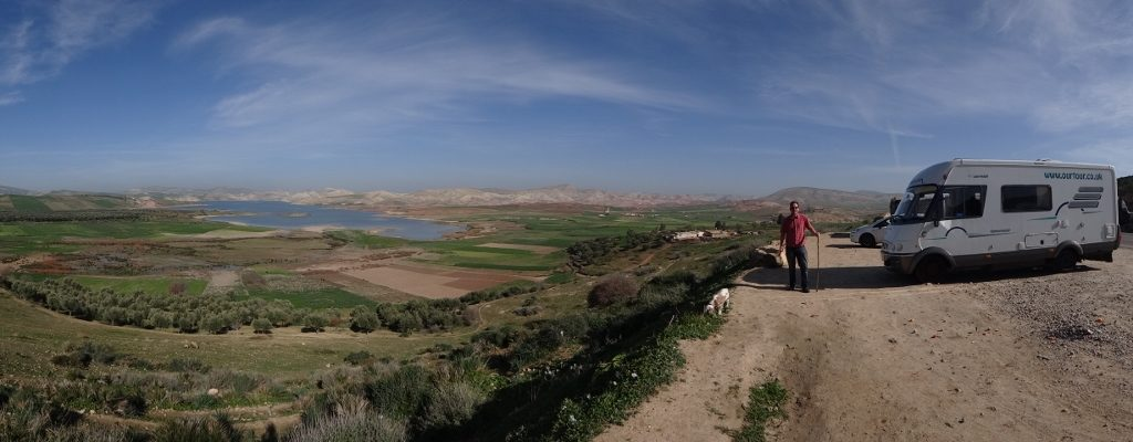 This is Morocco, a view on the N4