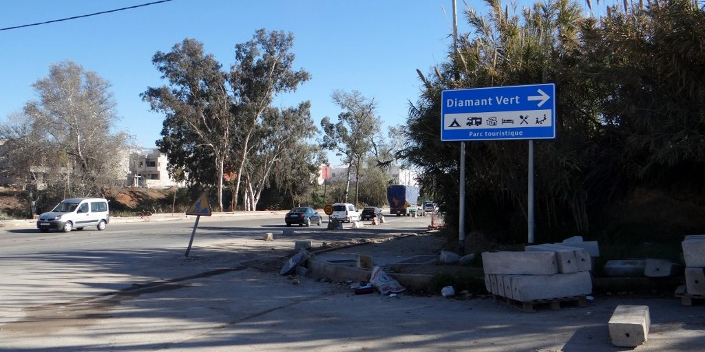 This way to Diamant Vert, the best campsite in Fes!