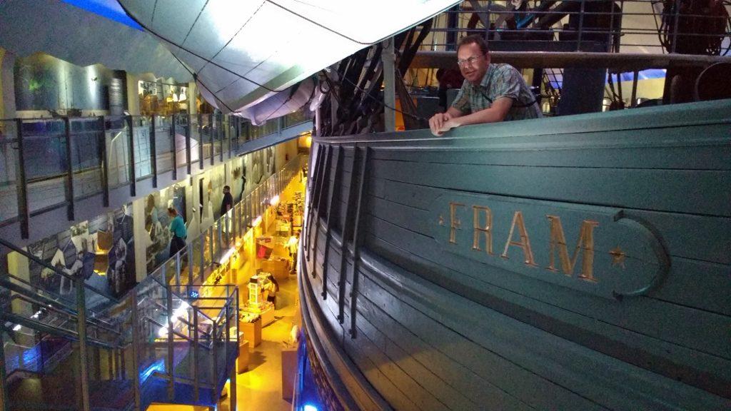 Fram Ship Oslo Norway