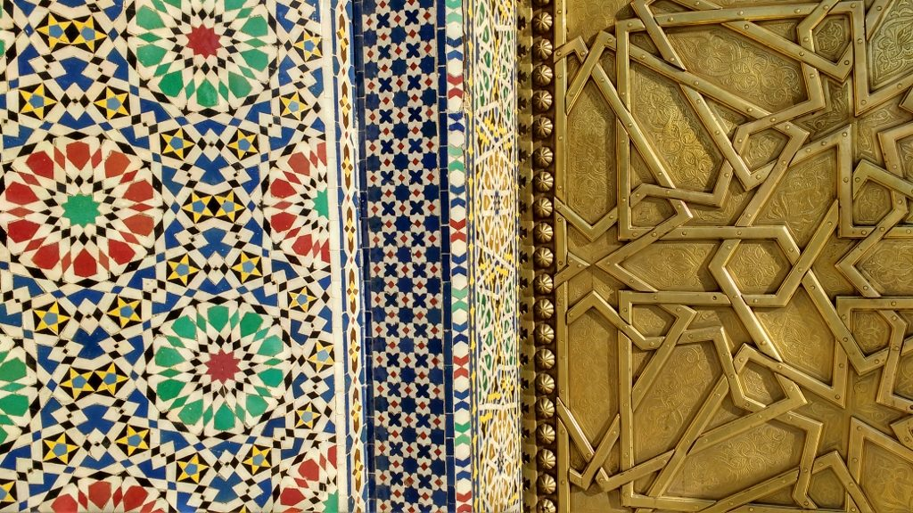 Ancient colours and patterns are everywhere in Fes