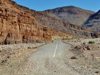 R107 tarmac road Morocco