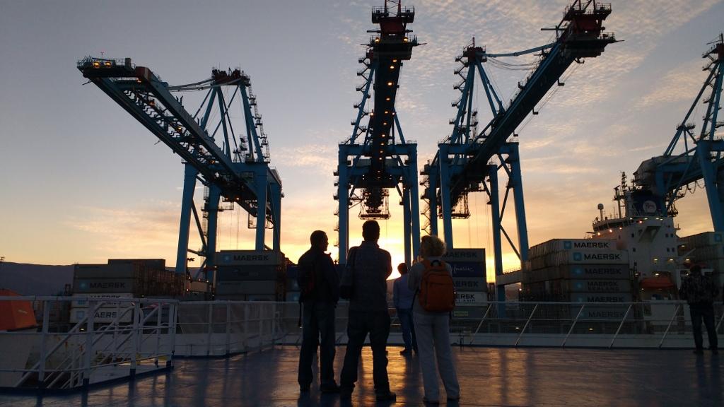 Cranes at Algeciras