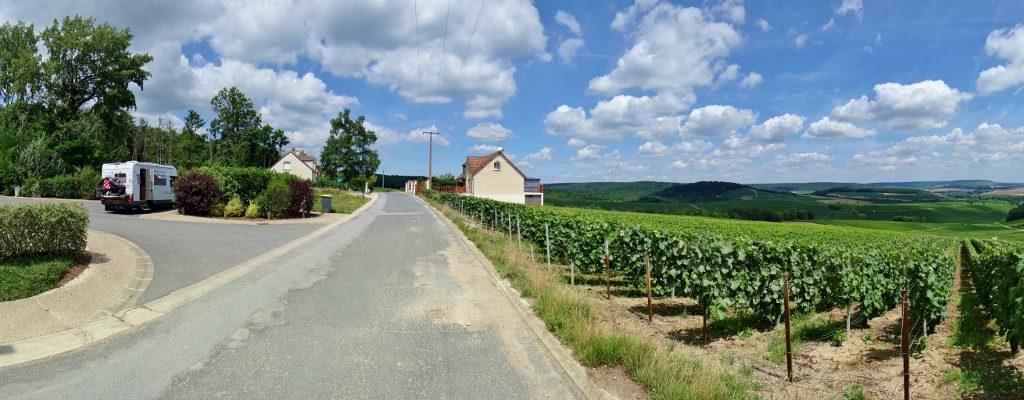 Motorhome aire Mutigny, France