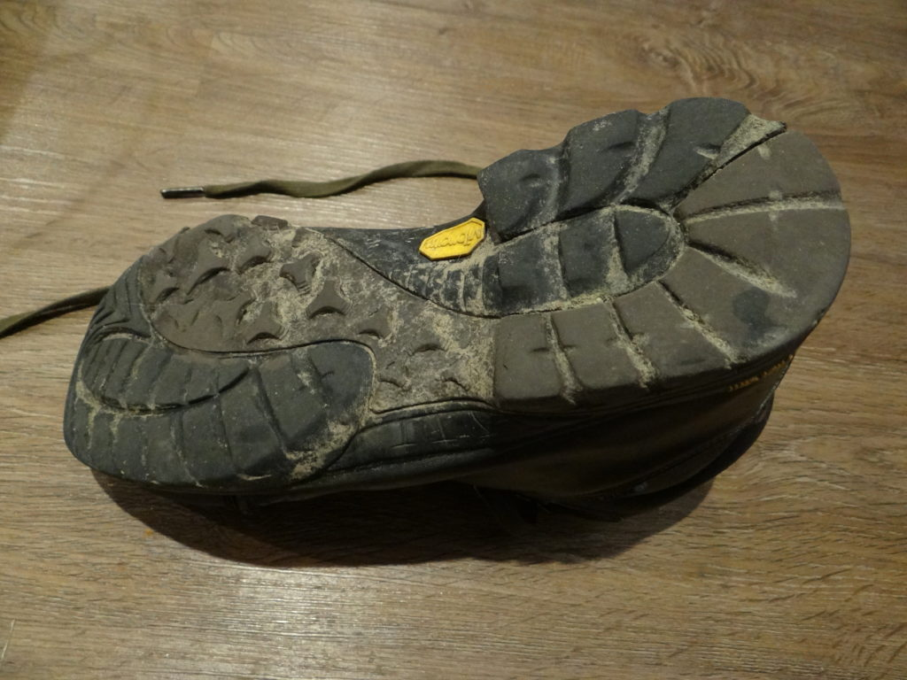 Vibram soles had me nervous at first, as they felt thin but last really well