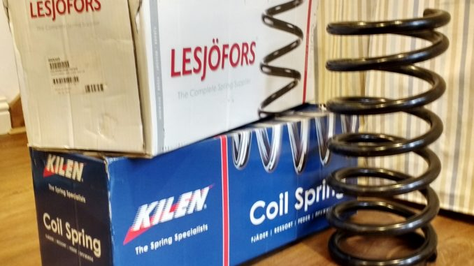 Hymer B544 Front Spring Replacement