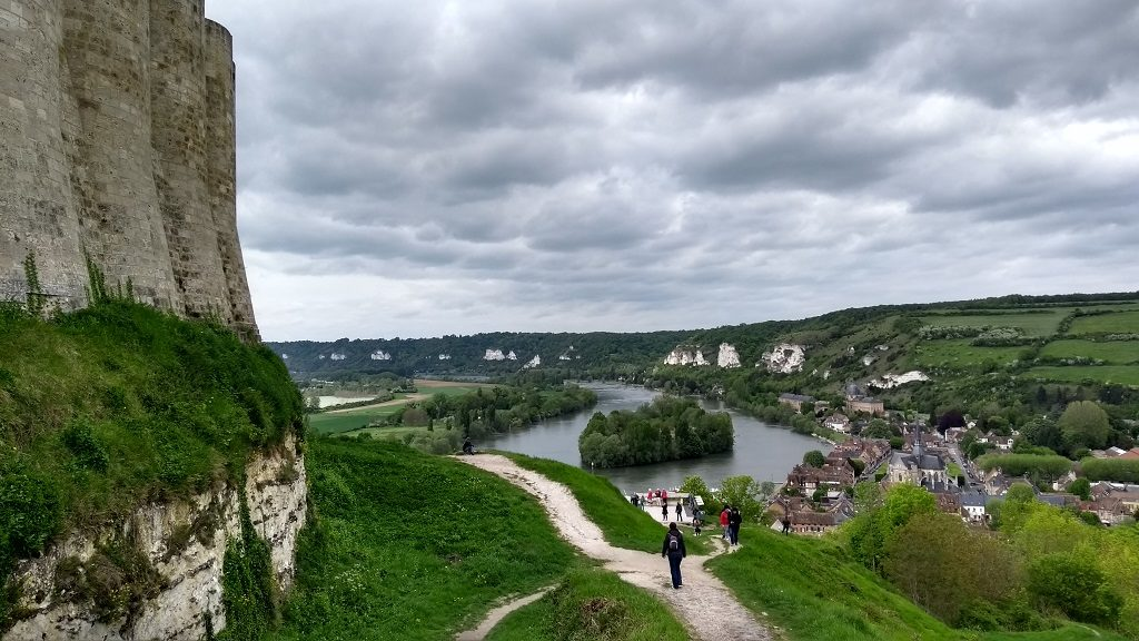 Perched Above the Seine at Château Gaillard, Normandy - Our Tour