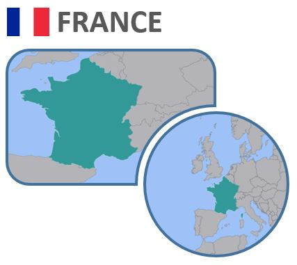 Map Of Drop Zones In France.How To Tour France By Motorhome Our Tour Motorhome Blog
